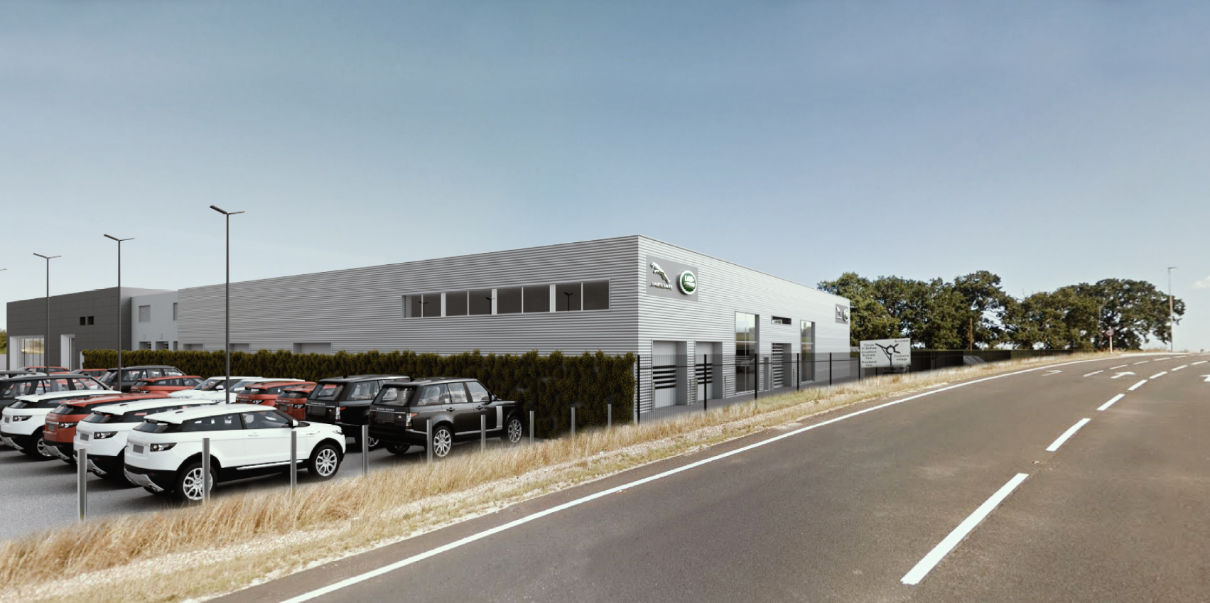 New Jaguar Land Rover Dealership to open at Broadland Gate